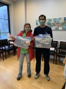 volunteer for toothbrush donations drive at cumming dental smiles